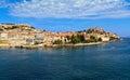 Portoferraio elba island from the sea elaba tuscany italy Stock Image