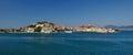 Portoferraio port, Elba Island, Italy Royalty Free Stock Photo