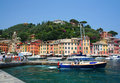 Portofino on the Italian Riviera Royalty Free Stock Photo