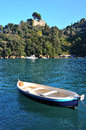 Portofino italy ancient fishing village in liguria Stock Images
