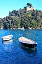 Portofino italy ancient fishing village in liguria Royalty Free Stock Photo