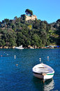 Portofino italy ancient fishing village in liguria Royalty Free Stock Image