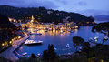PORTOFINO VILLAGE ON THE COAST OF ITALY Royalty Free Stock Photo
