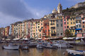 Portovenere in  Italy Royalty Free Stock Photo