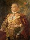 Portrait of Adolf pl Mosinski, Mayor of Zagreb 1892-1904 Royalty Free Stock Photo