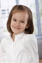 Portrait of adorable little girl Royalty Free Stock Photo