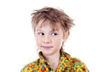 Portrait of an adorable young preschool boy Royalty Free Stock Image