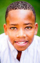 Portrait of an African American boy Royalty Free Stock Photo