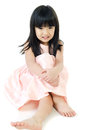 Portrait of  asian cute gril Royalty Free Stock Photo