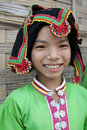Portrait asian women Thai Dam, Laos Stock Photo