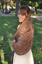 Portrait of beautiful Arabian woman Royalty Free Stock Photo