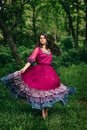 Portrait of a beautiful girl gypsy Royalty Free Stock Photo