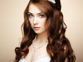 Portrait of beautiful sensual woman Royalty Free Stock Photo