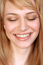 Portrait of a beautiful smiling girl Stock Photo
