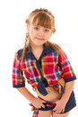 Portrait of a beautiful sportive girl Stock Photo