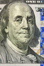 Portrait of Benjamin Franklin Stock Images