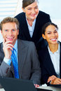 Portrait of a business team Stock Image