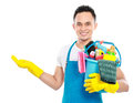 Cleaning service Royalty Free Stock Photo