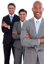 Portrait of confident business team Royalty Free Stock Photo