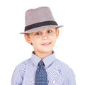 Portrait of cool pretty little boy Royalty Free Stock Photo
