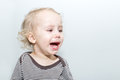 Portrait Of Crying Boy