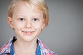 Portrait of cute happy boy a close up a young Royalty Free Stock Photography