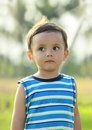 Portrait of cute little boy Royalty Free Stock Image