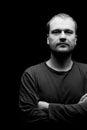 Portrait des man.studio Schusses Lizenzfreie Stockfotos