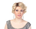 Portrait of drag queen. Man dressed as Woman Royalty Free Stock Photo