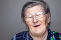 Portrait of an elderly woman Royalty Free Stock Photo