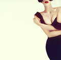 Portrait elegant sexy lady Royalty Free Stock Photo