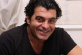 A portrait of the famous skier Alberto Tomba Royalty Free Stock Images