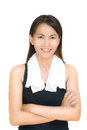 Portrait fitness asian woman Stock Photography