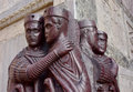 Portrait of Four Tetrarchs in Venice, Italy Royalty Free Stock Photo