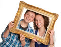 Portrait frame Royalty Free Stock Photography
