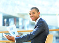 Portrait of a happy African American entrepreneur Royalty Free Stock Photo