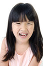 Portrait of Happy asian cute gril Royalty Free Stock Photo