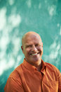 Portrait of happy mature hispanic man Royalty Free Stock Photo