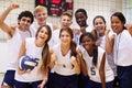 Portrait Of High School Volley...