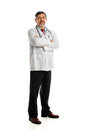 Portrait of Hispanic Doctor Standing Royalty Free Stock Photography