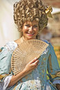 Portrait at Historic Scotland re-enactment. Royalty Free Stock Photos