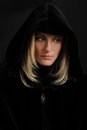 Portrait of Hooded Woman Royalty Free Stock Photo