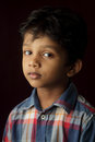 Portrait of an Indian boy Royalty Free Stock Photo