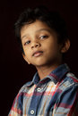 Portrait of an Indian boy Stock Photos
