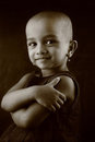 Portrait of an Indian girl child Royalty Free Stock Photo