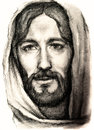 Portrait jesus christ nazareth Royalty Free Stock Photo