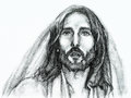 Portrait jesus christ nazareth Stock Images