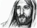 Portrait jesus christ nazareth Royalty Free Stock Photos