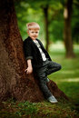 Portrait of kid boy Royalty Free Stock Photo