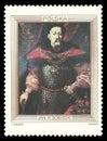 Portrait of King John III Sobieski Royalty Free Stock Photo